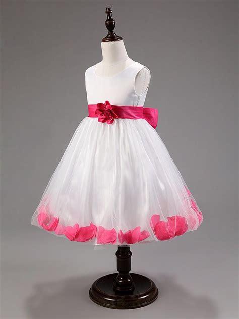 flower girl dress  wedding party baby girl clothing