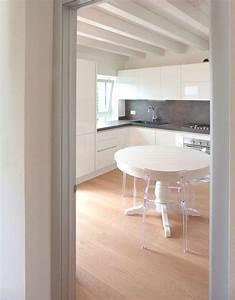 Cucine Moderne Cucine Moderne Bianche Lucide Ispirazioni Design dell'architettura Moderna