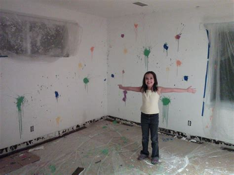 Splatter Paint Bedroom by Naya Mueller Living A Positive Life Drawing And Smiling