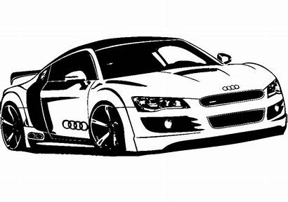 Voiture Sticker Stickers Audi Ambiance Couleur R8