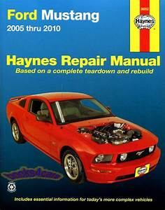 Ford Mustang Manuals At Books4cars Com