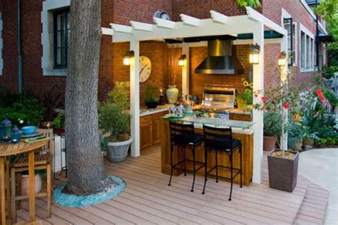 Small+outdoor+kitchen+ideas  Country Outdoor Kitchen