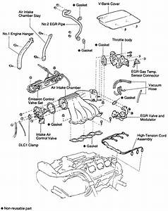 I Am Trying To Replace The Plugs In A 1995 Toyota Camray Station Wagon And The Repair Manual