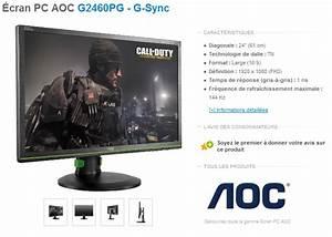 écran G Sync : test aoc g2460pg ecran gamer g sync ~ Medecine-chirurgie-esthetiques.com Avis de Voitures
