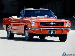 1965 Ford Mustang GT style wheels with white sidewall tires The original 260 V8   White 1965 ...