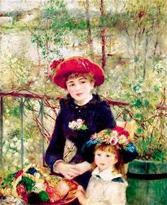 Two Sisters (On the Terrace) by Pierre-Auguste Renoir ...