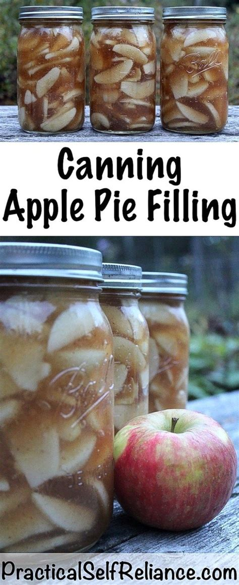 My original apple pie filling recipe used cornstarch, but the cornstarch does break down after time, and is no longer approved for canning due to safety issues. Canning Apple Pie Filling | Recipe | Canning apple pie ...