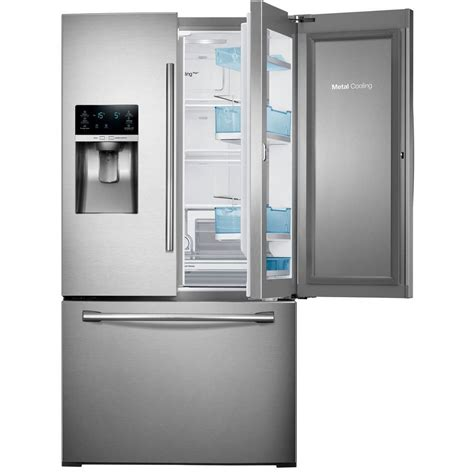 stainless steel door refrigerator samsung 28 cu ft door refrigerator in stainless