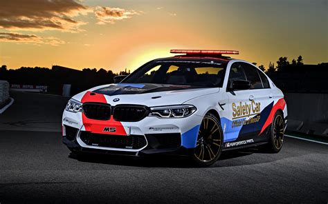 Bmw M5 4k Wallpapers by Bmw M5 Motogp Safety Car 2018 4k Wallpapers Hd