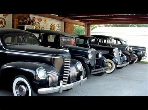 Classic Cars and Hot Rods at a Local Dealership   Ford