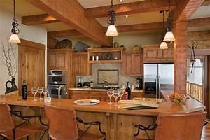 Log cabin kitchen designs kitchen design photos for Log cabin kitchen ideas
