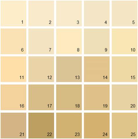 benjamin paint colors yellow palette 01 house