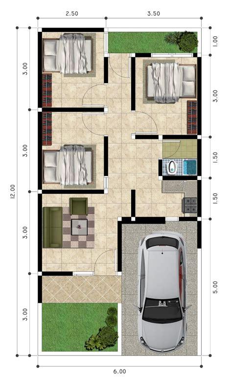 denah rumah  kamar tidur terbaru  denah rumah