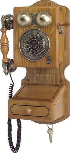 country kitchen wall phone best buy crosley cr92 corded country kitchen wall phone 6172