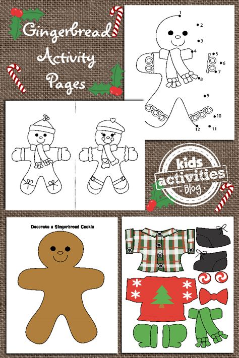 bread activities for preschoolers bread theme for preschoo 224 | Ginger Bread Man Printable for Kids
