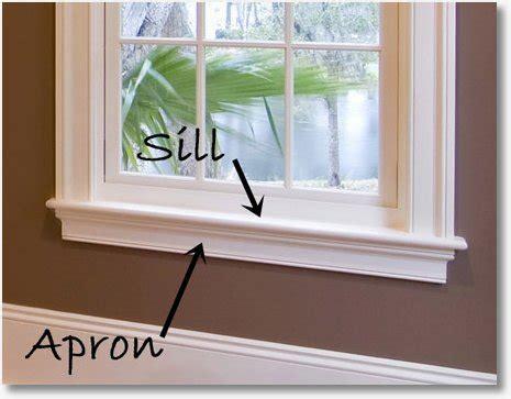 Window Sills by Window Trim Ideas Using Aprons Casing Sills To Dress