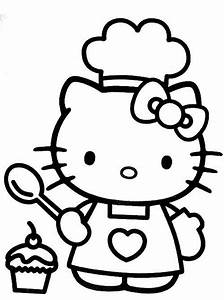 Hello Kitty Face Coloring Pages Print - Kids Coloring Page ...