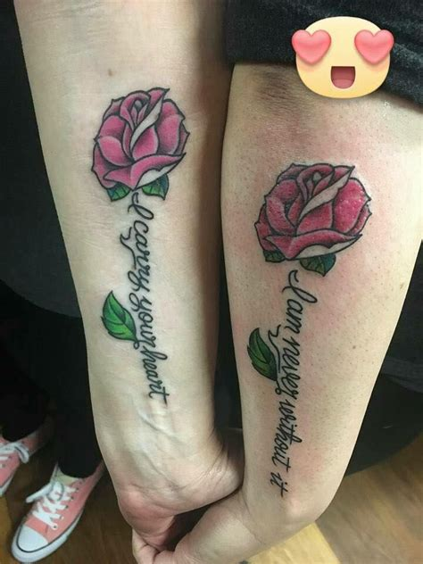 Best Mother Son Daughter Tattoos Images Pinterest