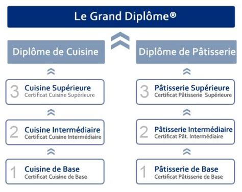 ecole de cuisine de gratuit diplômes de cuisine et pâtisserie grand diplôme le cordon bleu