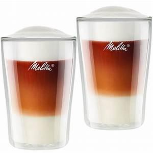 Latte Macchiato Gläser : doppelwandige latte macchiato gl ser melitta online shop ~ Yasmunasinghe.com Haus und Dekorationen