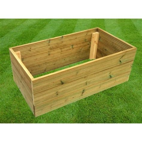 Expect to see more garden decks built on a raised level to make way for sheltered rooms or storage underneath. Tanalised Decking Board Raised Bed Garden Planters