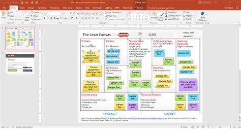 Lean Canvas Template 5 Best Editable Business Canvas Templates For Powerpoint