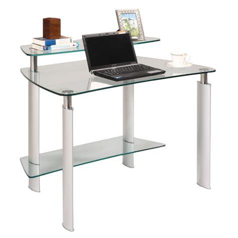 modern glass computer desk modern desks mason glass computer desk eurway