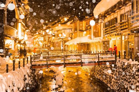 Magical Photographs Of The Snowcovered Small Japanese Town