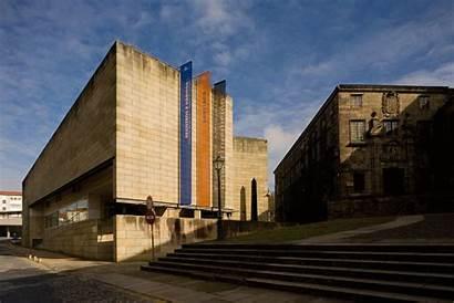 Siza Alvaro Archdaily Contemporary Galician Center Vieira