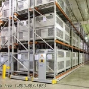 parachute storage system container  high density rack