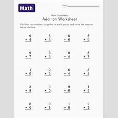 Simple Addition Worksheet 3  Kids  Addition Worksheets, Worksheets, Kindergarten Addition