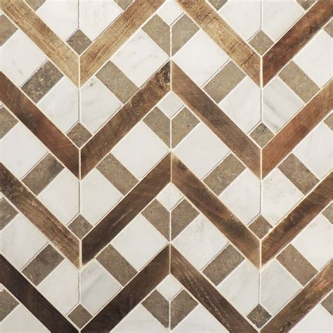 tile floor pattern petite alliance wood and stone mosaic tabarka studio