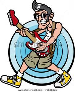 Rock and Roll Guitar Clip Art