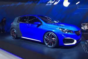 308 R Hybrid : shock 493bhp peugeot 308 r hybrid prepares for shanghai blast off pictures auto express ~ Medecine-chirurgie-esthetiques.com Avis de Voitures