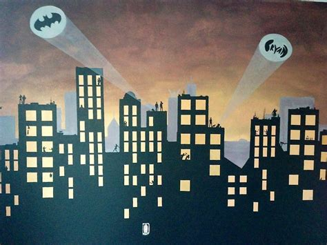 gotham city backgrounds wallpaper cave