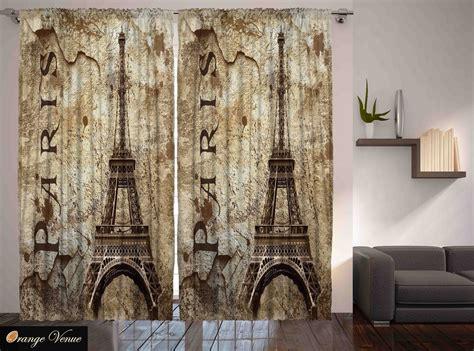 Paris Decor Eiffel Tower Parisian Cityscape Themed Living