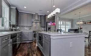 grey shaker ready to assemble kitchen cabinets kitchen With kitchen colors with white cabinets with nyc sticker printing
