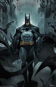 GAMING ROCKS ON: Anime/Cartoon/Comic Art #2: Batman Gallery