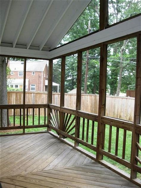 enclosed patios here s an enclosed deck patio