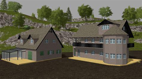 house building set fs farming simulator   mod