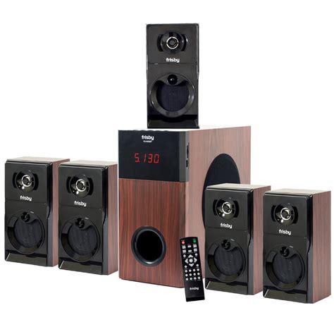 5 1 surround system frisby fs5030bt 800watt bluetooth 5 1 surround sound home theater speaker system ebay