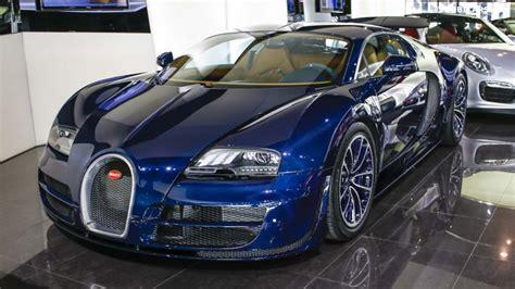 Unique Blue Carbon Bugatti Veyron Super Sport Sold In