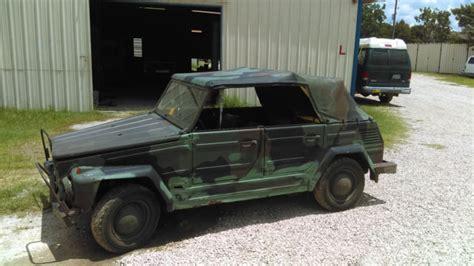 vw kubelwagen for sale 1976 vw kubelwagen thing type 181 german military nato