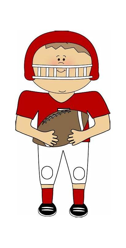Football Player Clipart Clip Players Graphics Sports