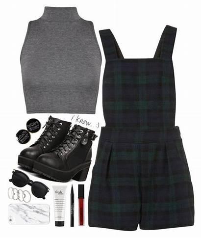 Polyvore Uniform Outfits Uniforms Grunge Soft