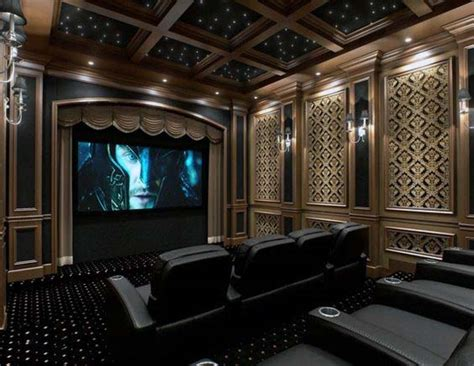 Home Theater Decor Ideas by 80 Home Theater Design Ideas For Room Retreats