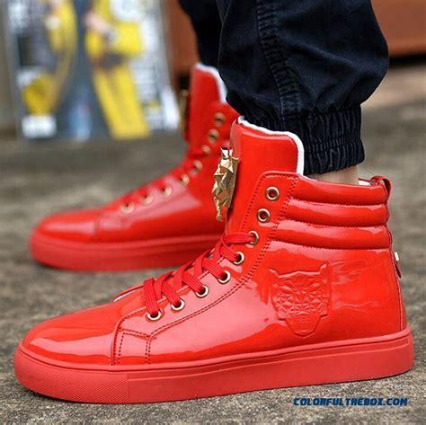 Cheap New Men High Top Shoes Fashion Casual