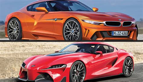 pictures of toyota sports cars bmw and toyota agree on joint sports car platform