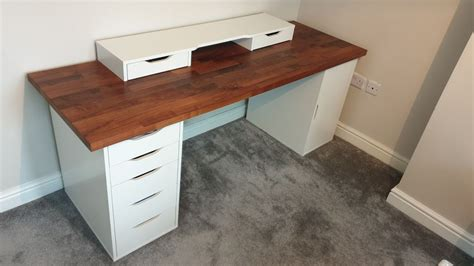 Using the ikea table tops and ikea legs you can custom build your own ikea desk to fit your modern home and lifestyle! IKEA ALEX DESK BUILD KARLBY COMPUTER DESK in LS15 Leeds ...