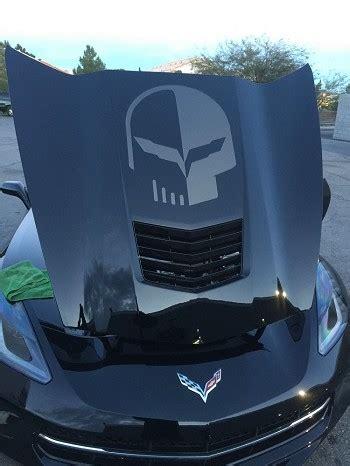 corvette stingrayzgrand sport  jake skull hood